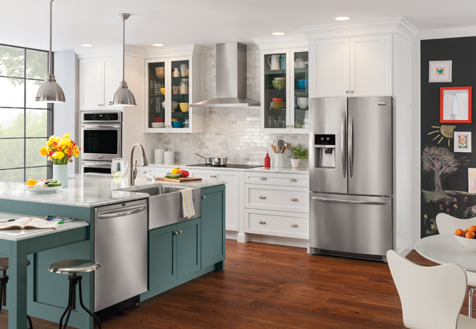 Frigidaire's Stainless Secret Weapon