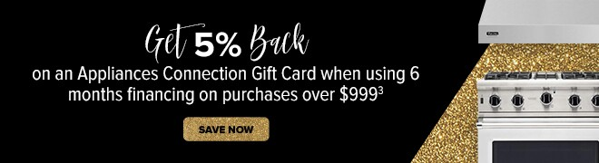 Get 5% Back on an Appliances Connection Gift card