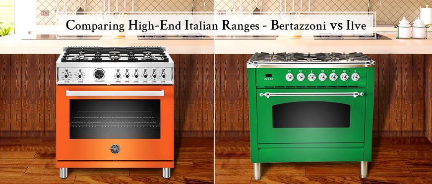 Comparing High-End Italian Ranges - Bertazzoni vs Ilve ...
