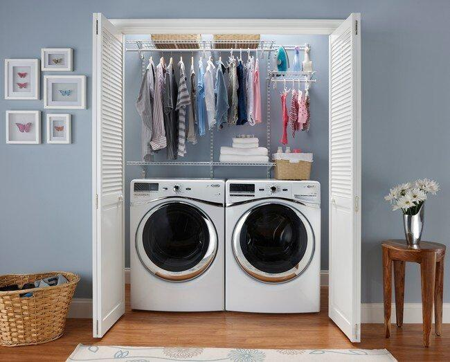 If you store your dryer in a closet, vacuum regularly to keep dust under control.