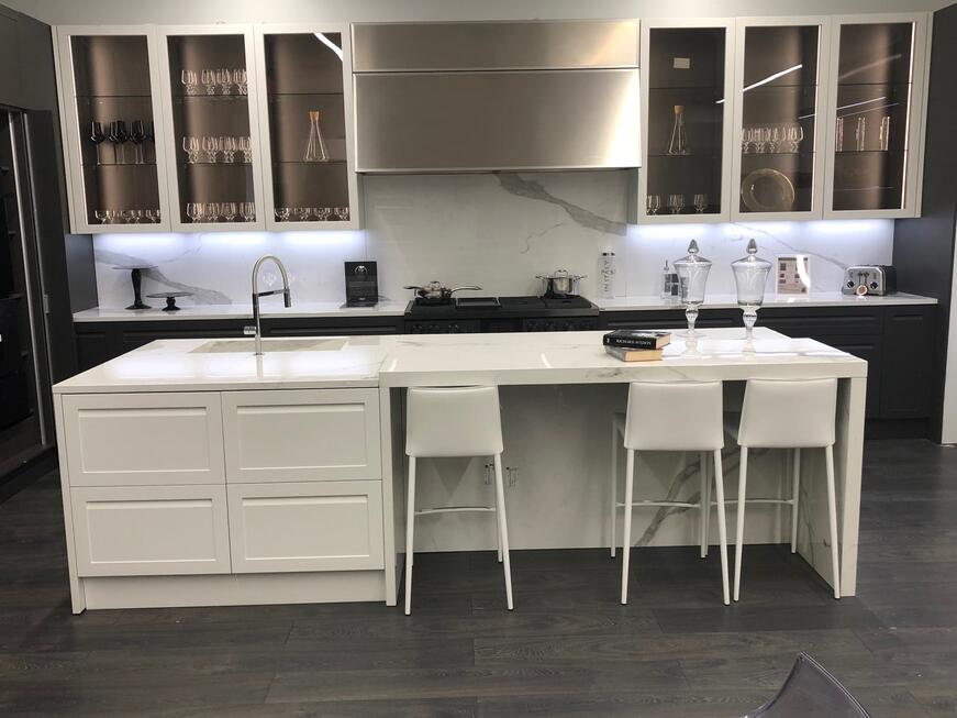 Dacor Modernist Appliances with Shaker Cabinets