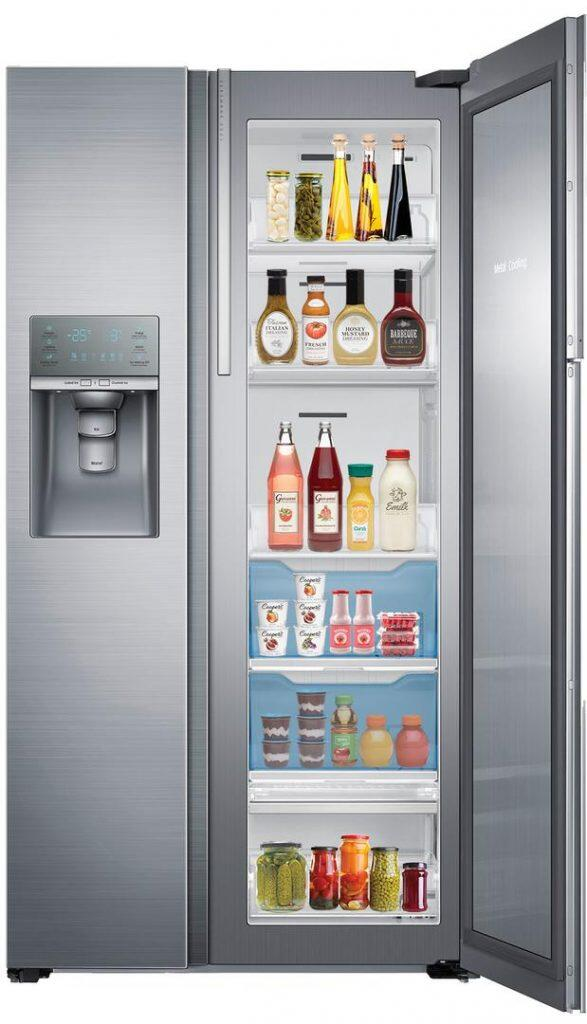 Most Reliable Side By Side Refrigerators: Samsung RH22H9010SR