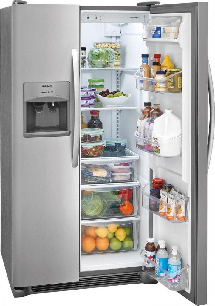 Most Reliable Side By Side Refrigerators: Frigidaire FFSS2615TS