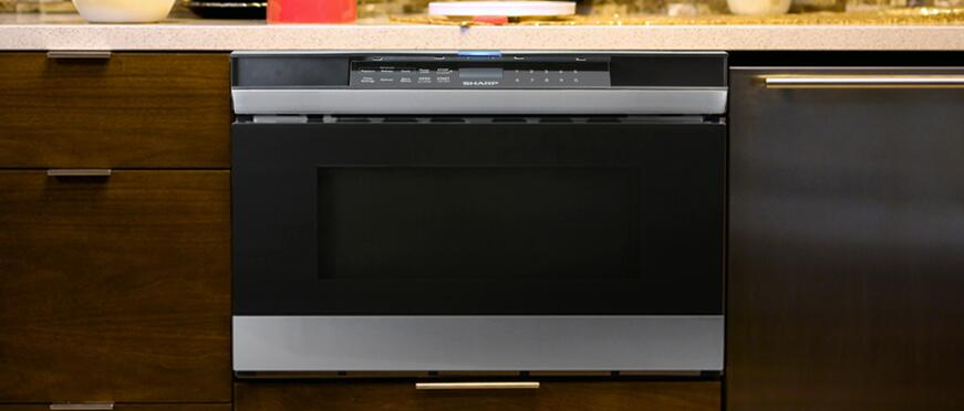 Sharp Microwave drawer Appearance