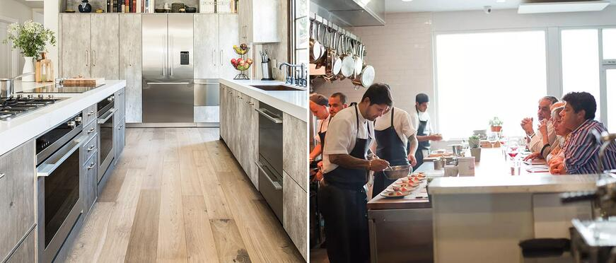 Fisher Paykel Chef Ludo Lefebvre: Fisher & Paykel Kitchen and Trois Mec
