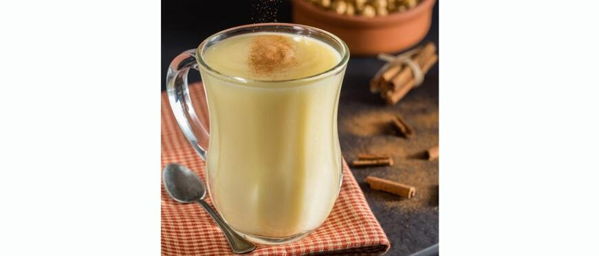 Autumn Drinks You'll Fall For: Eggnog