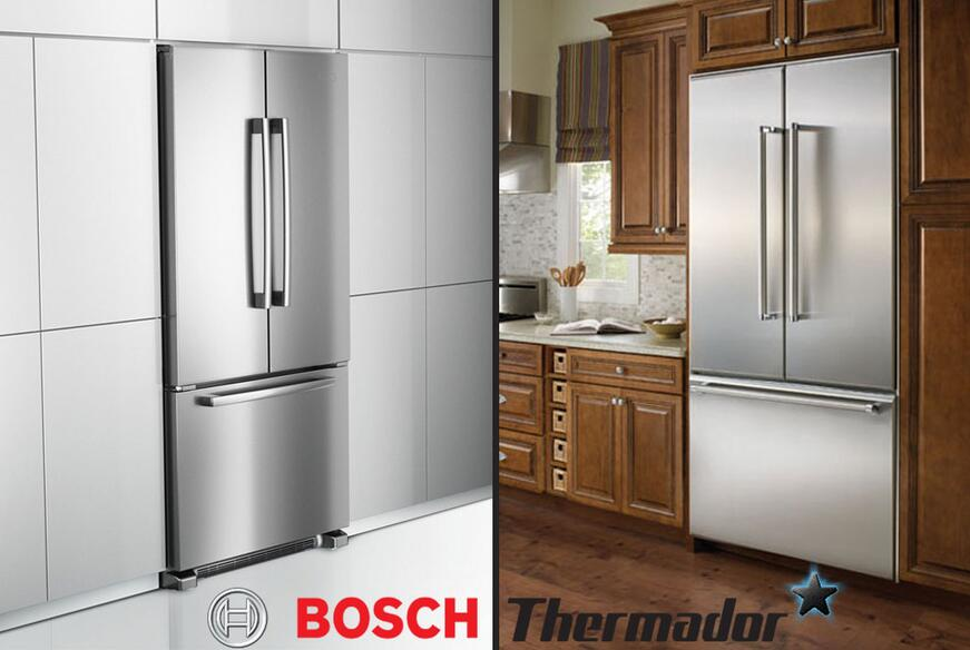 Get the Luxury Kitchen Look for Less with the new Bosch Handles!