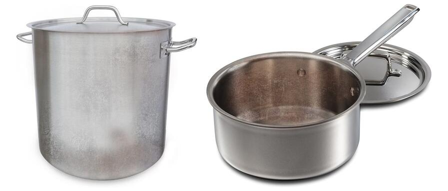 Caring for Premium Stainless Steel Cookware: Routine Stainless Steel Cookware Cleaning