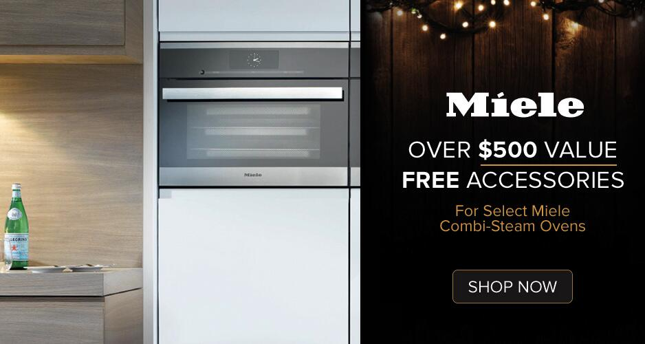Miele Over 500 Free Accessories For Select Combi Steam Ovens