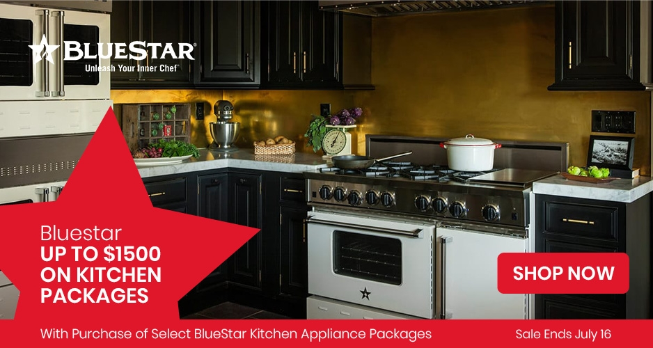 BlueStar - Save Up to $1,500 On Kitchen Packages