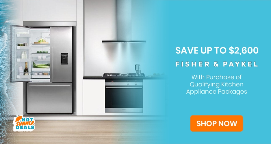 Fisher and Paykel - Save Up to $2,600 Off Kitchen Packages