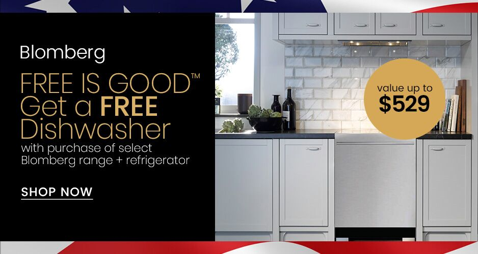 Blomberg Free Is Good Free Dishwasher Offer