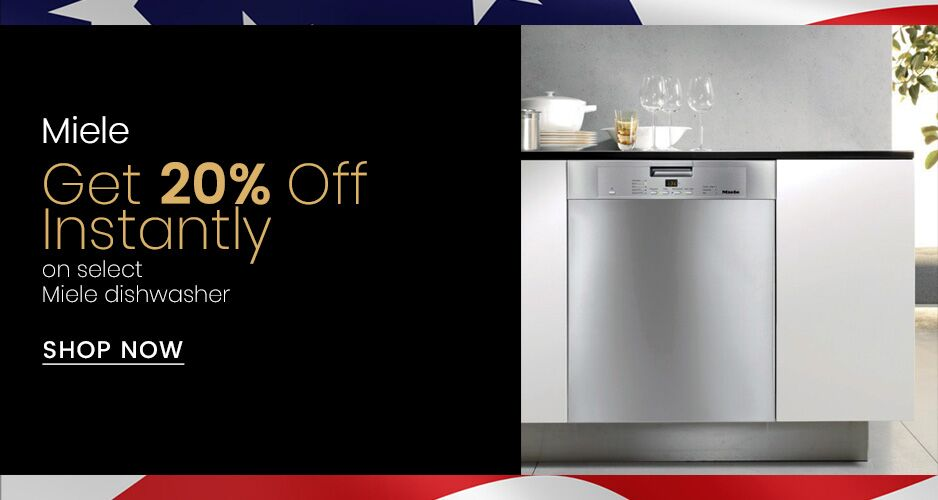 Miele - 20% Off Instant Savings On Select Dishwashers