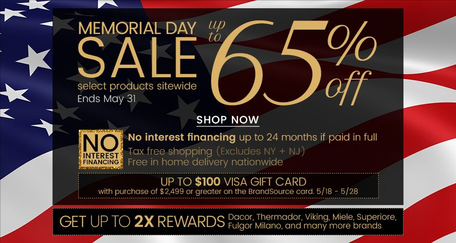 Memorial Day Sale - Up to 65% Off Select Products Sitewide