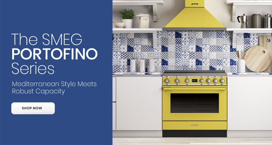 The SMEG Portofino Series - Mediterranean Style Meets Robust Capacity