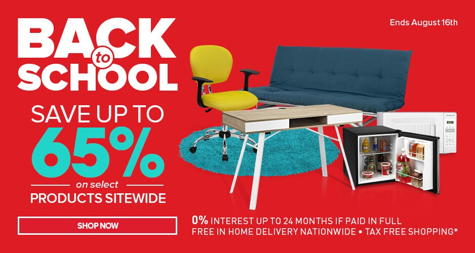 Back to School - Up to 65% Off To Get You Ready For School