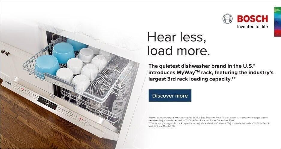 Bosch Dishwashers Promo