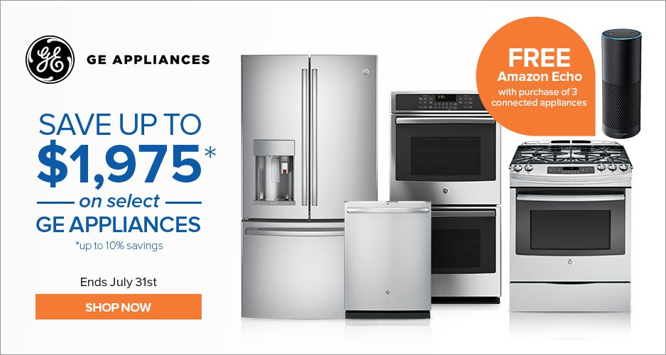 GE Appliances - Save Up to $1,700 On Kitchen Packages