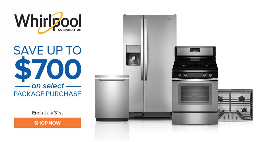 Whirlpool - Save Up to $700 On Appliances