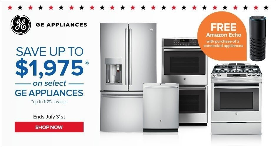July 4th Sale GE Appliances - Save Up to $1,700 On Kitchen Packages