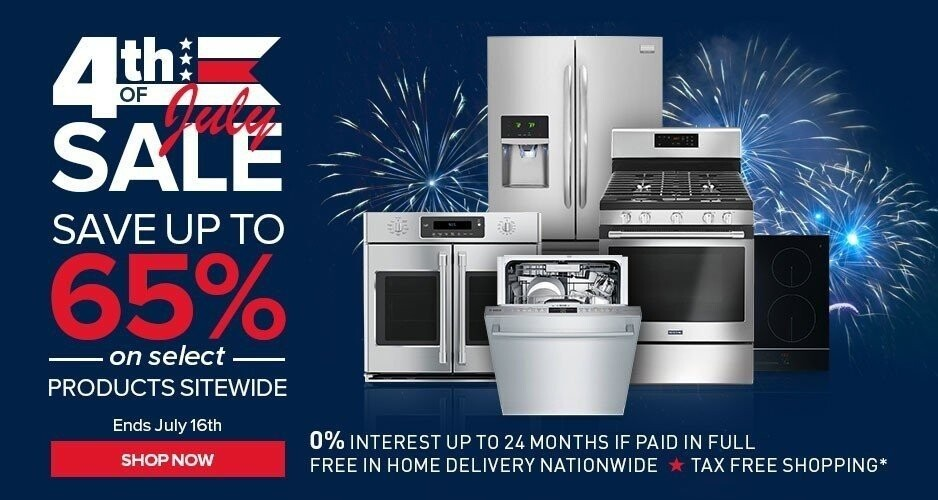 July 4th Sale - Up to 65% Off Select Products Sitewide