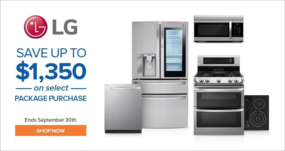 LG - Save Up to $1,350 On Kitchen Appliances