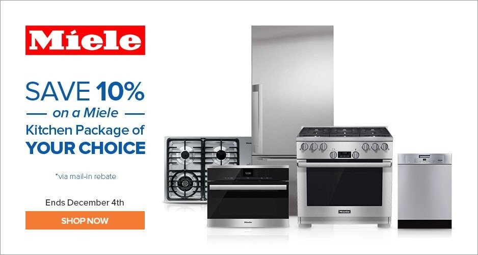 Miele - Save 10% On Kitchen Packages of Your Choice