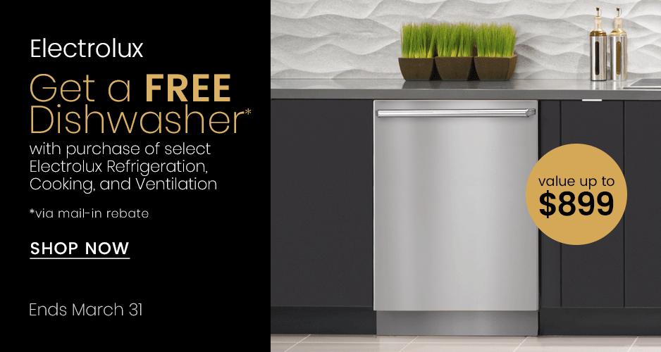 Electrolux Get Free Dishwasher