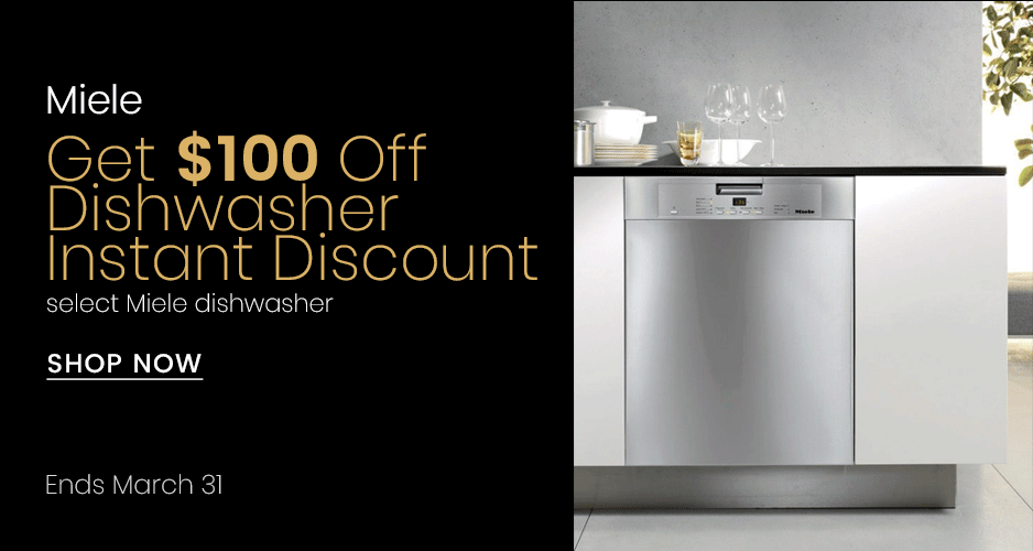 Miele - $100 Off Instant Savings On Select Dishwashers