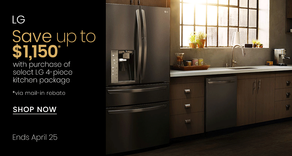LG - Save Up to $1,100 On Kitchen Packages