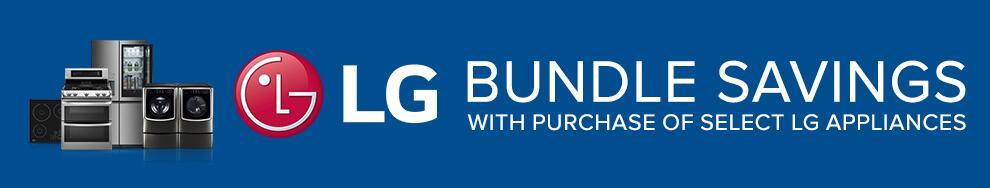 LG Bundle Savings