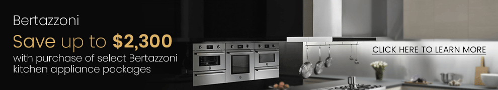 Bertazzoni Save Up to $2,300 on Kitchen Appliance Package