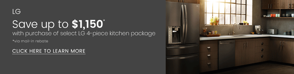 LG - Save Up to $1,150 with Purchase of Select LG 4-Piece Kitchen Package