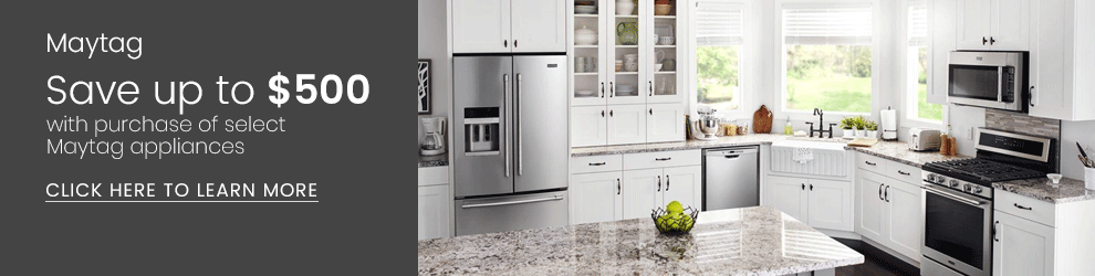 Maytag - Save Up to $500 with Purchase of Select Appliances