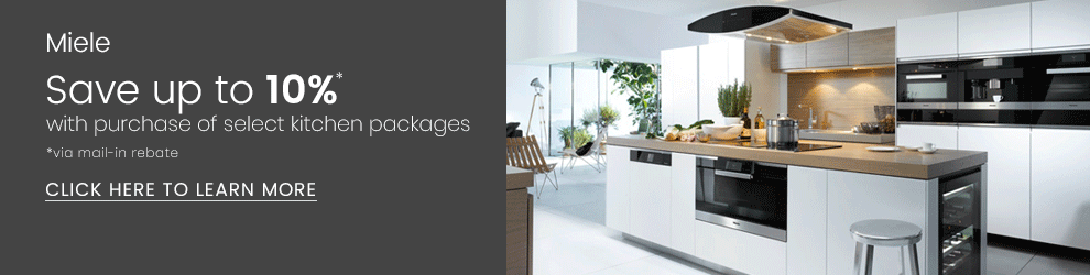 Miele Save 10% On Kitchen Package