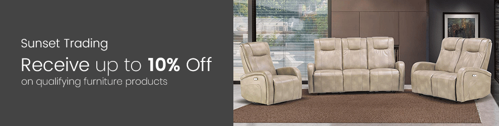 Sunset Trading - Receive up to 10% Off on Qualifying Furniture Products