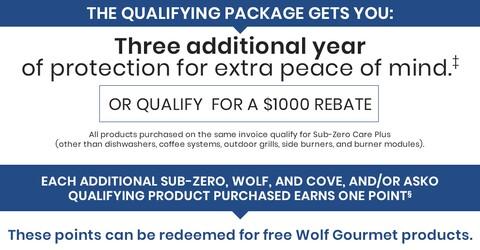 SubZero Wolf Rebate