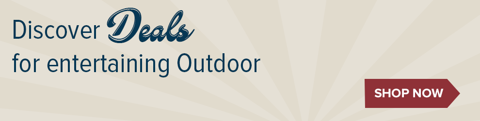 Discover Deals for Entertaining Outdoors