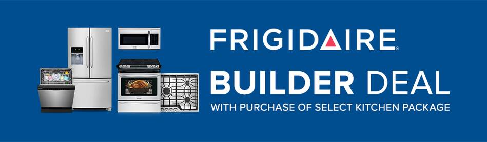 Frigidaire Builder Deal with purchase of select Kitchen Appliance