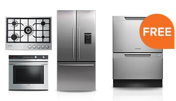 Free Dishwasher with Select Built-in Kitchen Package Purchase