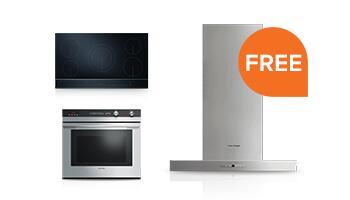 Free Ventilation Hood with Select Built-in Kitchen Package Purchase