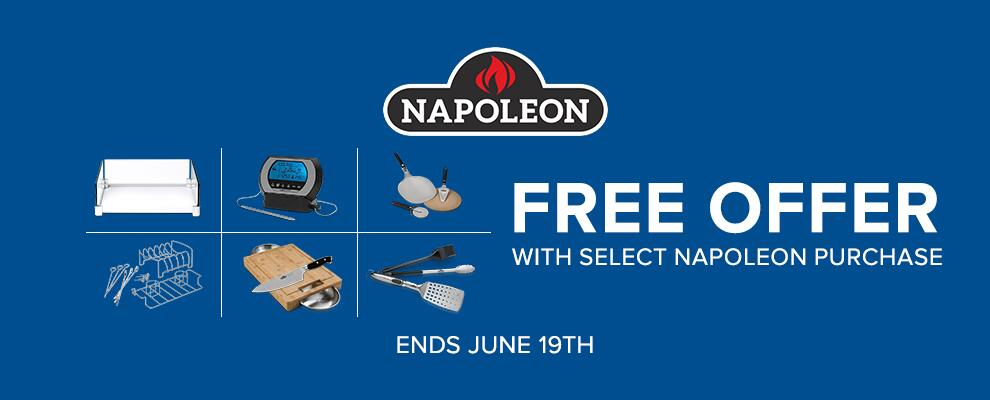 Napoleon Free Offer with Select Napoleon Purchase