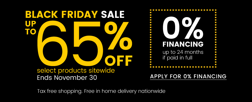 Black Friday Sale Up to 65% Off Select Products Sitewide